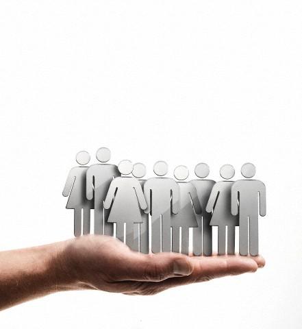 Holding employees