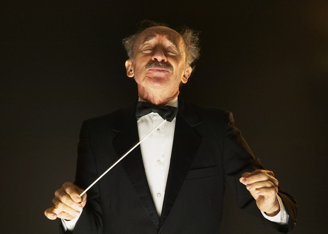 Satisfied Music Conductor